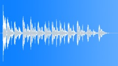 Cartoon Percussive Footsteps Close Up Trip & Fall Playful Descending Drum Beats Sound Effect