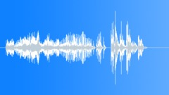 Cartoon Rubbery Twist Zip Close Up Brief Buzz Medium-Low Pitch Pop Splash Thuds Sound Effect