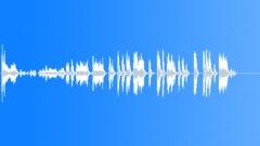 Cartoon Springs Close Up Medium Raking & Hitting Of Springs Sound Effect