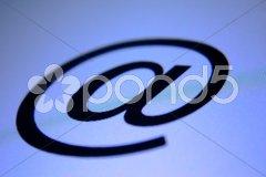 E-mail-Zeichen Icon @ Stock Photos