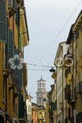 Street in Verona, Italy Stock Photos