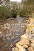 River Gelt, Cumbria Stock Photos