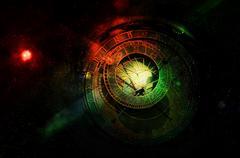 Horoscope forecast Stock Photos