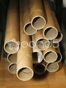 Cardboard tubes Stock Photos