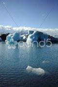 Foreground iceberg Stock Photos