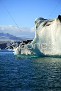 Enormous iceberg Stock Photos