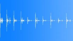 Foley Feet Wood Fast Nervous Sound Effect