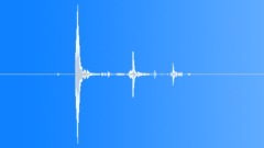 Foley Movement Foley Movement Pistol Drops On Dirt Int Close-Up Medium Thud Wit Sound Effect