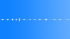 Metal Metal Running Finger Lightly Up Venetian Blinds Close Up Various Speeds & Sound Effect