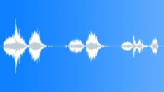 Metal Metal Stress & Groans Int Close Up Large & Reverberating Various Take Wit Sound Effect