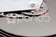 Die Festplatte Stock Photos