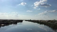 Danube Delta, Romania Stock Footage