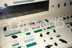 Russischer U-Boot Kommandostand Stock Photos