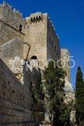 Die Akropolis von Lindos - Acropolis of Lindos Stock Photos