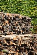 Holzstapel Stock Photos