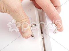 Folder-Metal Ring Stock Photos