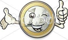 Euro jubel Stock Photos
