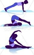 Boden Gymnastik Stock Photos
