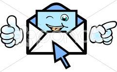 Mail erhalten Kuvituskuvat