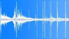 Sport Sports Ice Hockey Int Medium Distant Air Puck Slap Shot Against Back Boar Sound Effect