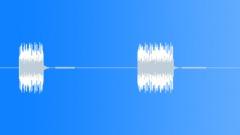 Tone Static Tones Buzzer Close-Up Medium Pitch Buzzer 2 Short Buzzes Sound Effect