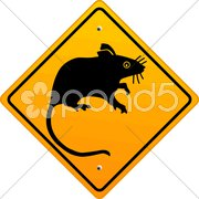 Ratte schild Stock Photos