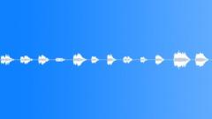 Tone Static Tones Small Glass Chimes Single & Multiple Stings Äänitehoste