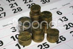Geld sparen Stock Photos
