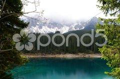 Karersee - Südtirol - Italien Stock Photos