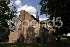 Klosterkirche St. Marien in Bodenwerder-Kemnade Stock Photos