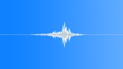 Whoosh Whooshes Metal Swinging Close-Up Medium Speed Medium Soft Hollow Reverb Sound Effect