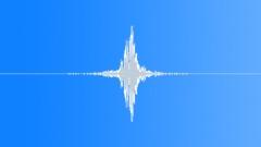 Whoosh Whooshes Metal Swinging Close-Up Medium Speed & Medium Loud Hollow Rever Sound Effect