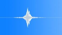 Whoosh Whooshes Metal Swinging Close-Up Medium Slow & Medium Loud Hollow Reverb Sound Effect