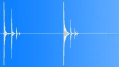 Wood Impact Wood Hits Impacts Baseball Bat Int Close Up Drops To Thin Carpeted Sound Effect