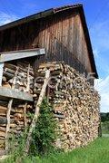 Holzhütte Stock Photos