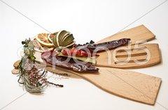 Küchendekoration Stock Photos
