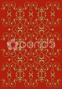 Hintergrund Floral rot Stock Photos