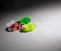 Traffic light sweets Stock Photos