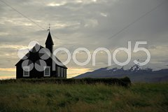 Church at Budir Stock Photos