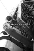 Industrial architecture Stock Photos