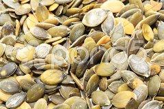 Close up of pumpkin seeds Stock Photos