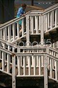 Holztreppen Stock Photos