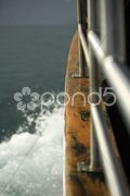 Boat in the sea Kuvituskuvat