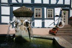 Zirbes-Brunnen Stock Photos
