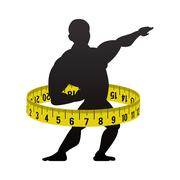 Fitness gym bodybuilding design Stock Illustration