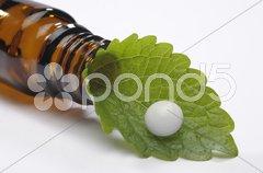 Naturmedizin oder alternative Medizin Stock Photos