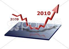 Geschäft Diagramm Pfeil Erfolg Aufschwung 2010 Kuvituskuvat
