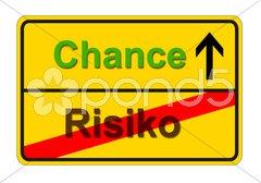 Risiko Chance Stock Photos