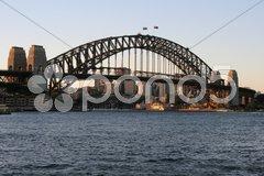 Harbour Bridge in Sydney Stock Photos