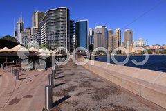Circular Quay in Sydney Stock Photos